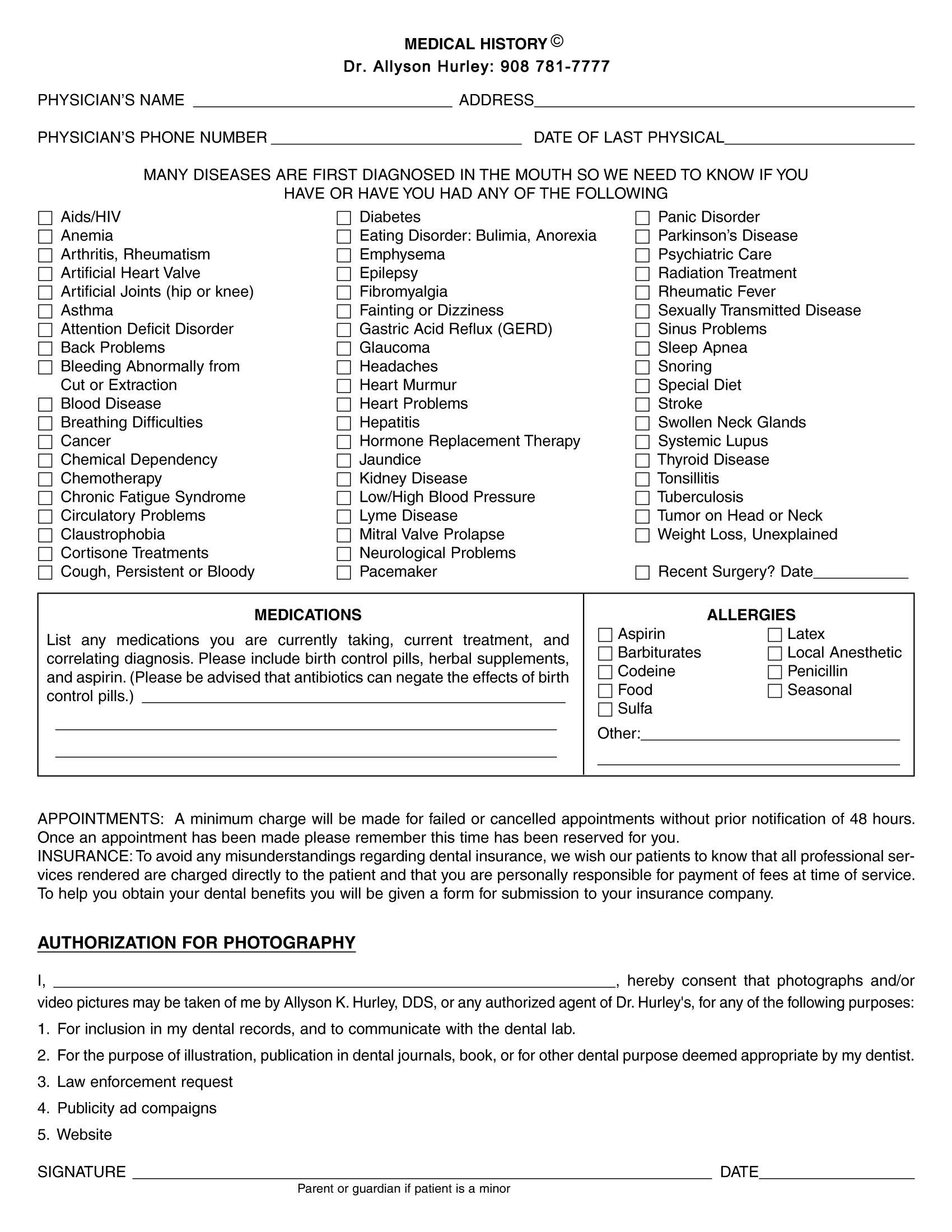 10 23 2018 patient info medical history form page 2 jpg 1700 2200