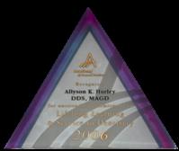 Dr. Hurley's award