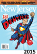 NJ Monthly Magazine cover for 2015 top dentist, including Allyson Hurley DDS of Bedminster.
