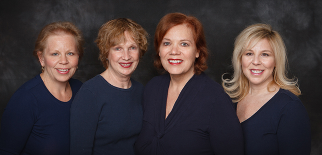 Photo of Chatham NJ dentist Dr. Allyson Hurley and staff.